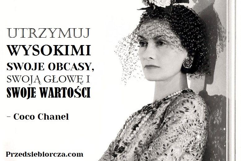 5 motywacyjnych cytatów inspirujących kobiet - Coco Chanel