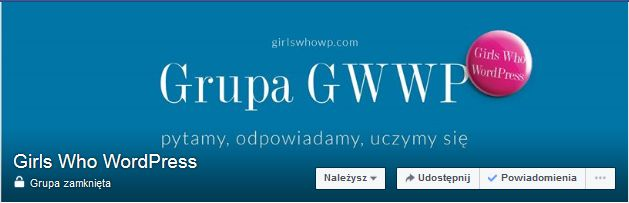 Grupa Girls Who WordPress