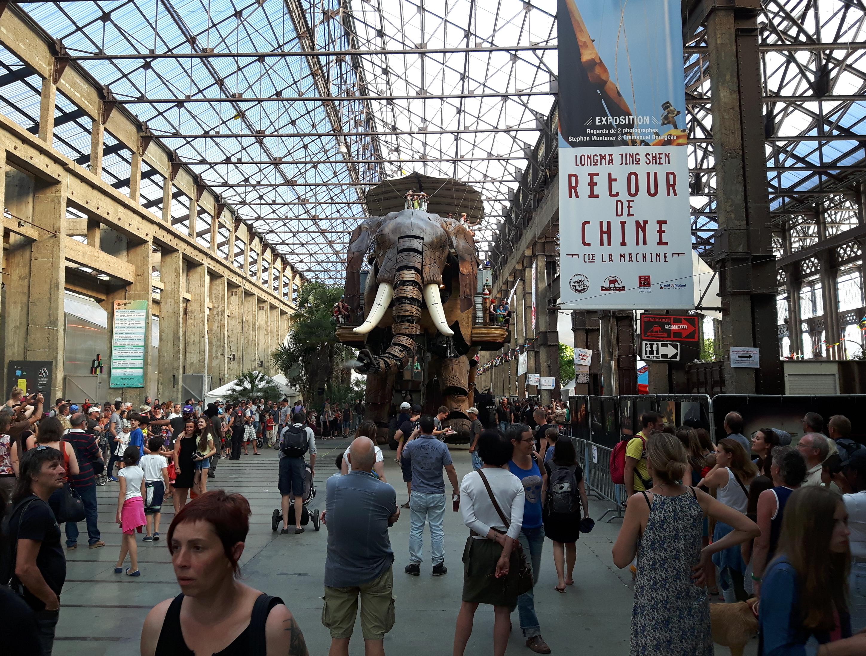 Słoń z kolekcji Les Machines de l'Ile_maker faire Nantes